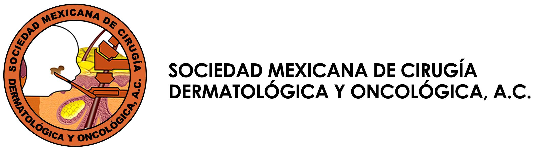 Sociedad Mexicana de Cirugía Dermatológica y Ontológica Logo